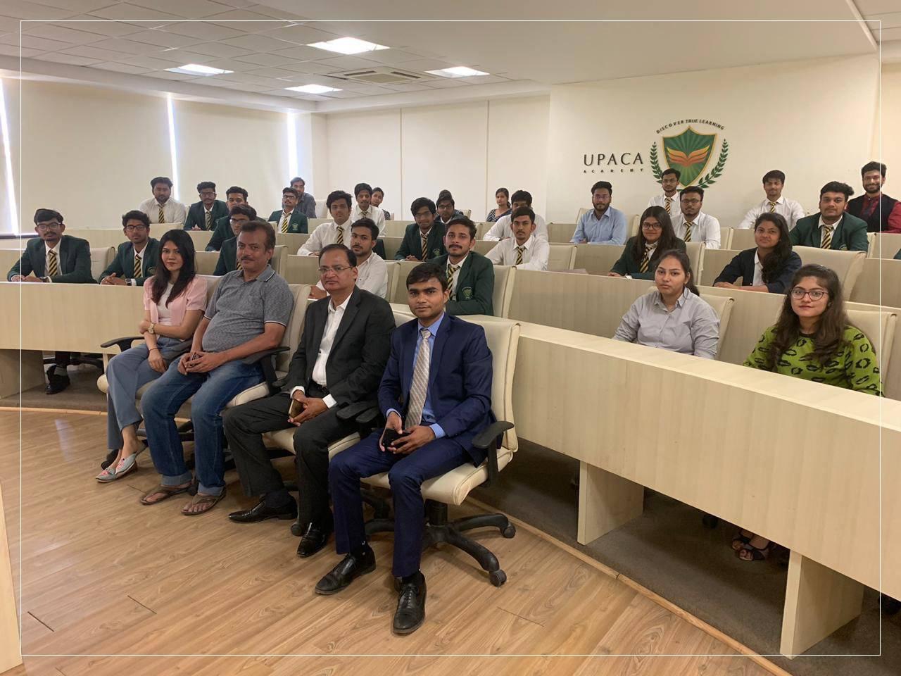 faculty visit at upaca gurukul